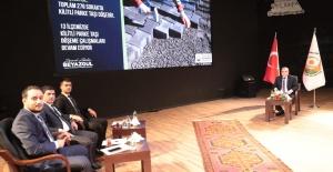 Şanlıurfa Belediye Başkanı Beyazgül yaptıkları ve yapacaklarını anlattı.