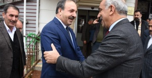 Vekil Özcan'dan Başkan Bayık'a ziyaret