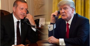 Cumhurbaşkanı Erdoğan Donald Trump'la Görüştü.