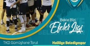 Haliliye Belediye Spor Liderliğe devam