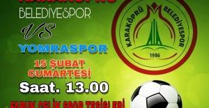 Karaköprü Yomraspor'u Konuk Ediyor