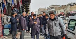 Milletvekili Fakbaba Eyyüp Peygamber Caddesinde Esnafı Ziyaret Etti.