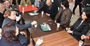 Rektör Bay Karabulut'tan kantin ortamında sohbet