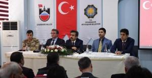 """Vali Güzeloğlu """"Diyarbakır'a Hizmet Yolunda"""" Buluşmaları Kapsamında Çınar'dayız!"""