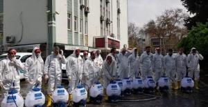 """Başkan Kılınç """"her yeri dezenfekte etmeyi planlıyoruz.."""""""