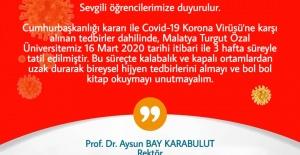Malatya Turgut Özal Üniversitesi...