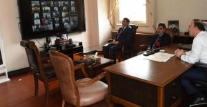 Şanlıurfa Koordinasyon Kurulu Telekonferansla Toplandı