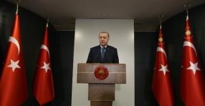 """Cumhurbaşkanı Erdoğan:""""30 büyükşehrimiz ile Zonguldak ilimizi belirli istisnalar haricinde araç giriş çıkışına kapatıyoruz."""""""