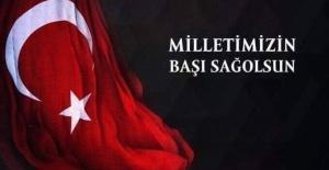 """Başkan Mirkelam """"aziz milletimize başsağlığı diliyorum"""""""