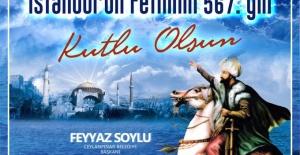 Başkan Soylu quot;istanbulun fethi#039;nin...