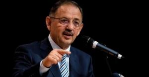 """AK Parti Genel Başkan Yardımcısı Özhaseki """"AK Belediyeler bahane değil, hizmet üretir"""""""