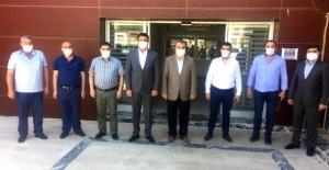 Başkan Ağan'dan Karaköprü Belediyespor'a ziyaret