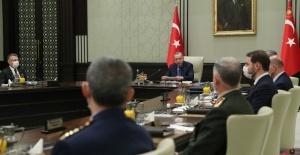 Milli Güvenlik Kurulu, Cumhurbaşkanı Erdoğan başkanlığında Cumhurbaşkanlığı Külliyesi'nde toplandı.
