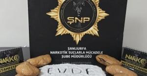 Şanlıurfa'da Uyuşturucu'ya Geçit Yok!