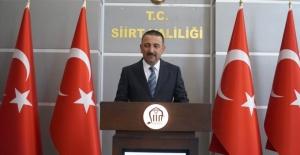 """Siirt Valisi Hacıbektaşoğlu """"tüm fedakar babaların Babalar Günü 'nü kutlu olsun"""""""