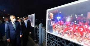 """15 Temmuz İstiklal"""" sergisi açıldı"""