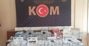 2.500 paket gümrük kaçağı sigara ele geçirildi