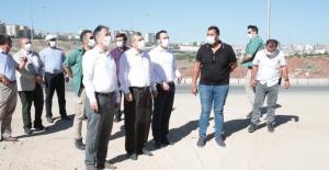 Abdulkadir Badıllı Bulvarında yapay şelale çalışmaları başlıyor