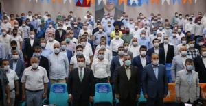 AK Parti Şanlıurfa'da ilk kongresini Harran ilçesi ile start vererek başladı.