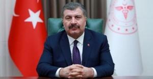 """Bakan Koca """"25 İLİMİZDE son 2 gündür entübe hastamız yok"""""""