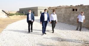 Başkan Canpolat, hedeflerinin Haliliyede bulunan tüm mahalle içi yol çalışmalarını tamamlamak olduğunu belirtti.
