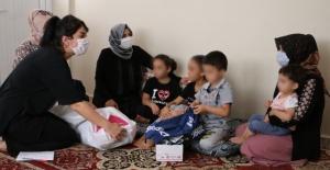 Eşinden şiddet gören anne ile çocuklarına Büyükşehir sahip çıktı