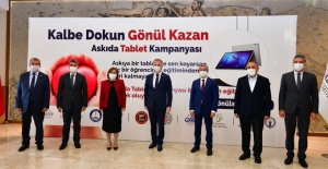 """Gaziantep Valisi Gül """"100 Bin adet tablet hedefimizin 60 binini tamamladık"""""""