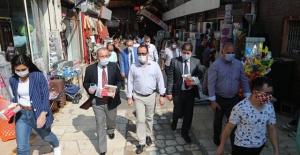 Hatay Vali Vekili Tetikoğlu,maske takılması konusunda uyarıda bulundu.