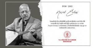 """Kültür ve Turizm Bakanlığı """"vefatının yıl dönümünde saygı ve rahmetle anıyoruz"""""""