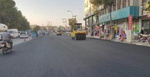 Şanlıurfa'da asfalt mesaisi devam ediyor