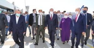Cumhurbaşkanlığını sisteminden önce ve Türkiye Cumhuriyetinin son Başbakanı Binali Yıldırım Şanlıurfa'da.