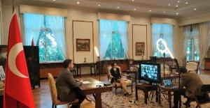 """Büyükelçi Önen """"Geleceğin Tohumları"""" programının online açılışına katıldı."""