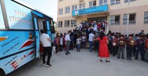 Büyükşehir,kırsal mahallelerde öğrencilerin eğitimlerine katkı sunuyor.