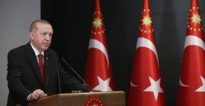 """Erdoğan: """"Sınırlarımızı terör örgütlerine ve onları maşa olarak kullananlara teslim etmedik, etmeyeceğiz"""""""