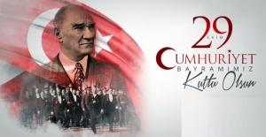 """Şanlıurfa Emniyet Müdürü Doğuş """"Cumhuriyetimizin 97. Yaşı kutlu olsun"""""""