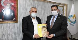 """Başkan Canpolat, """"PKU'lu hastalara desteğimiz devam edecek"""""""