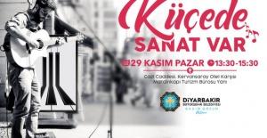 """Diyarbakır Büyükşehir """"'Küçede Sanat Var' Etkinliği İle Müziği Ayağınıza Getiriyoruz"""""""