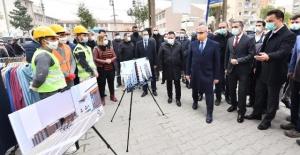 """Diyarbakır Valisi Karaloğlu """"Sakarya Caddesi baştan başa yenileniyor"""""""