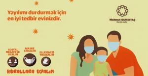 """Mardin Valisi Demirtaş """"lütfen mümkün olduğunca evinizde kalın"""""""