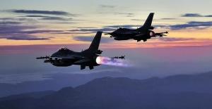 4 PKK'lı terörist hava harekâtıyla etkisiz hale getirildi.
