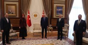 AK Parti Şanlıurfa Heyeti Külliye'de