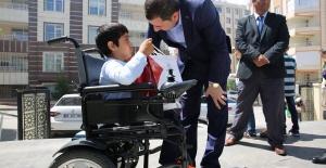 """Başkan Baydilli """"engelli kardeşlerimize engelsiz bir yaşam oluşturmak adına daha fazla çalışmalıyız"""""""