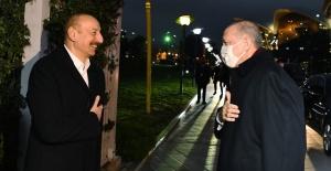 Cumhurbaşkanı Erdoğan,Azerbaycan'da