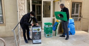 Karaköprü'de sıfır atık geri dönüşüm projesine vatandaşlardan yoğun ilgi