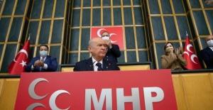 """MHP Lideri Bahçeli """"Türk ordusuna 'satılmış' demek şerefsizliktir, kepazeliktir"""""""