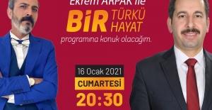 """Başkan Baydilli """"Bir Türkü Bir Hayat"""" Programına Konuk Olacak"""
