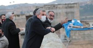 """Başkan Kuş """"Eyyübiye'mizde tarih gün yüzüne çıkıyor..."""""""