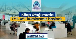 """Eyyubiye Belediyesi """"Kitap Otağı'mızda TYT-AYT kurslarımız başladı..."""""""