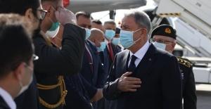 Millî Savunma Bakanı Hulusi Akar ve Genelkurmay Başkanı Org. Yaşar Güler Irak'ta