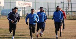 Şanlıurfaspor Ankara Demirspor maçı hazırlıklarına başladı.
